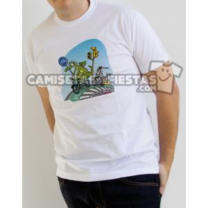 """Camiseta para Chico """"Cerro de San Jorge y el Dragón"""""""