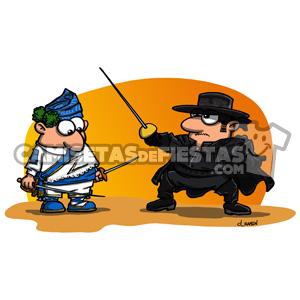 """""""Danzante con El Zorro"""" Camiseta para chica"""