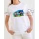 """Danzante con Jack Sparrow"" Camiseta para chica"