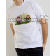 """""""Danzante Sota de Espadas"""" Camiseta modelo Chico"""
