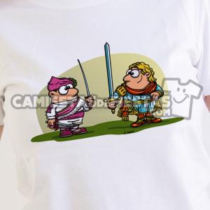 """Danzante con Sota de Espadas"" Camiseta para chica"
