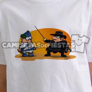 """""""Danzante con El Zorro"""" Camiseta para niñ@"""