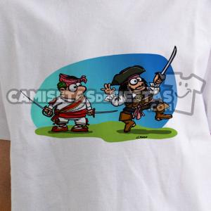 """""""Danzante con Jack Sparrow"""" Camiseta para niñ@"""