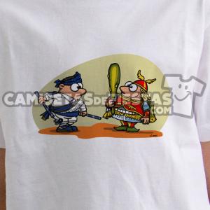 """""""Danzante con la Sota de Bastos"""" Camiseta para niñ@"""