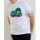 """Danzante Sota de Bastos"" Camiseta modelo Chico"