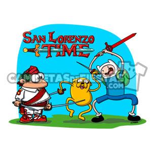 """""""Hora de aventuras"""" Camiseta para niñ@"""