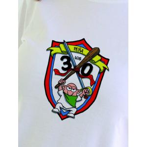 """Camiseta """"Peña Los 30"""" de Huesca Chica"""