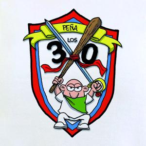 "Camiseta ""Peña Los 30"" Modelo Chico"