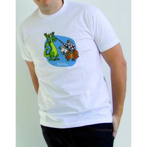 """Camiseta para Chico """"San Jorge y el Dragón"""""""