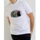 """""""Danzante Dar Vader gris"""" Camiseta modelo Chico"""