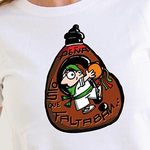 """Camiseta """"Peña Los que Faltaban"""" Modelo Chico"""