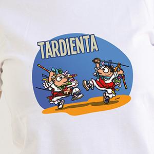 """Fiestas de Tardienta"" Camiseta para chicas"